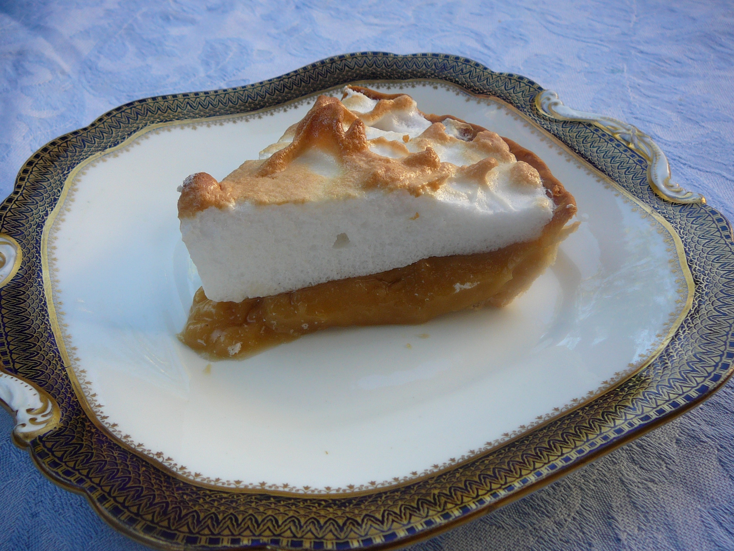 Butterscotch Pie, made with Thai palm sugar in place of brown sugar