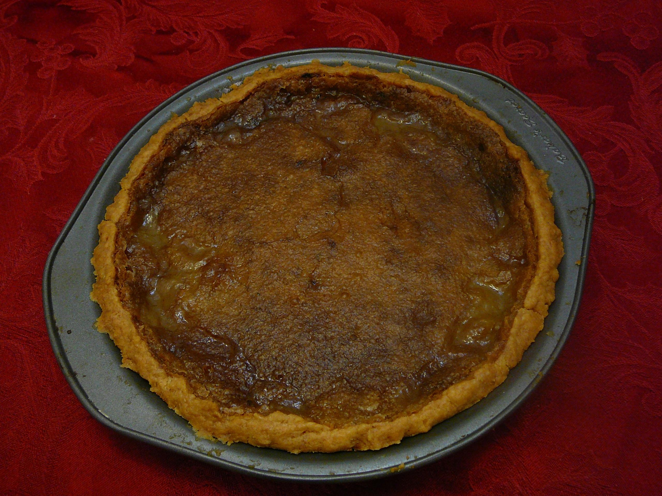 Martha Hall Foose's Sweet Tea Lemon Chess Pie