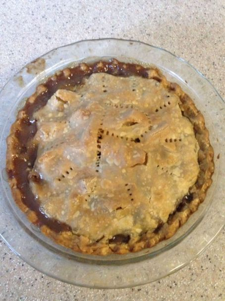 2 Whole Pear Pie